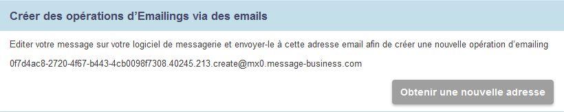 Créez vos Emailings depuis votre messagerie