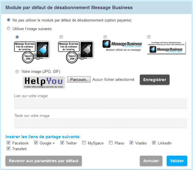 emailing_module_par_defaut_parametrage