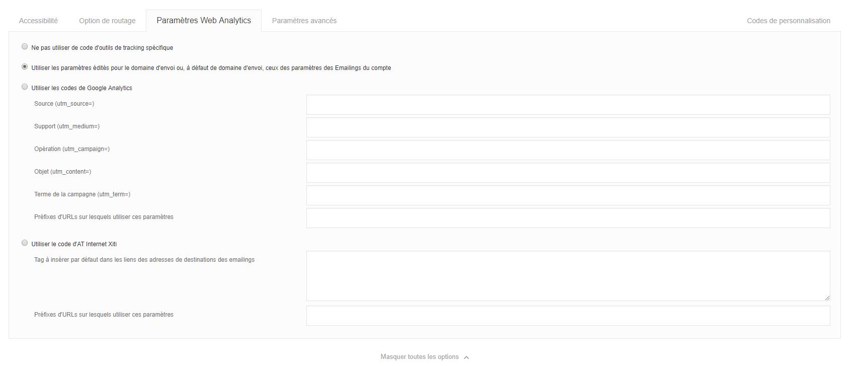 option-emailing