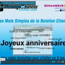 Mot simple de la relation client n°8 : joyeux anniversaire