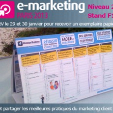 Calendrier de l'emailing et du marketing client