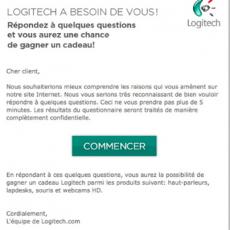 Extrait du Message Business Day Été 2013 - Annonceur : Logitech