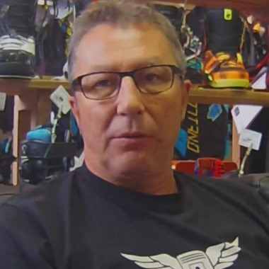 Eric Gros, fondateur d'Hawaii Surf