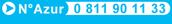 Numéro Azur 0 811 90 11 33