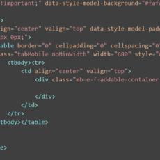 Créez votre Emailing à partir d'un fichier HTML [Expert]