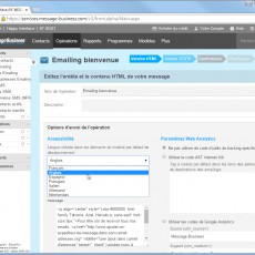 Votre Emailing dans une langue étrangère
