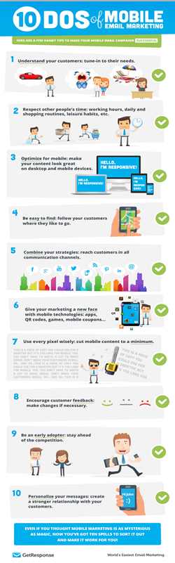Dos and Don't email marketing