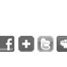 Bouton de partage pouvant être insérés dans vos emailings via l'application Message Business