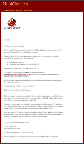 Emailing via Message Business