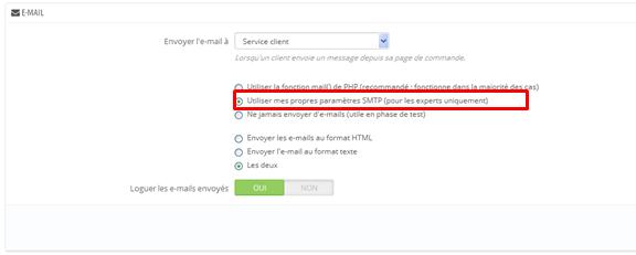 email-transactionnel-configuration-prestahop