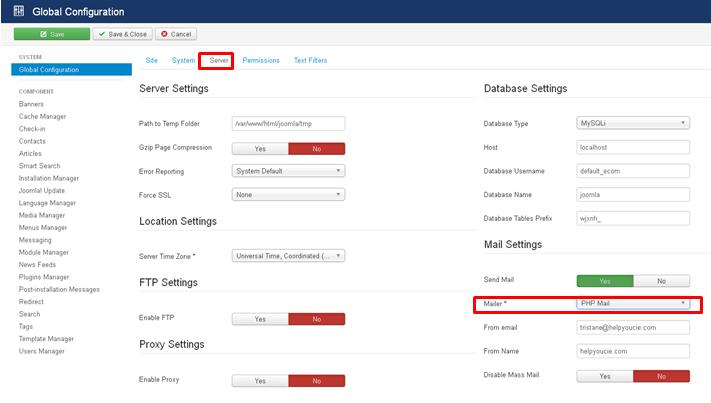 joomla-global-smtp-configuration-mailer-smtp