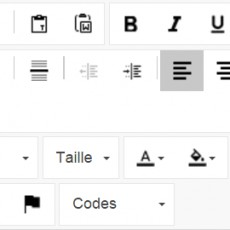 Editer finement les textes de vos emailings