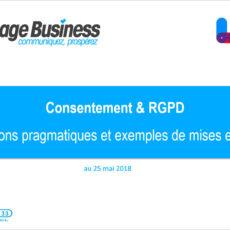 Consentement et RGPD : explications pragmatiques et exemples de mises en œuvre