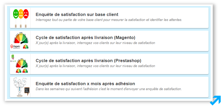 Programme Améliorer la satisfaction de l'application Message Business