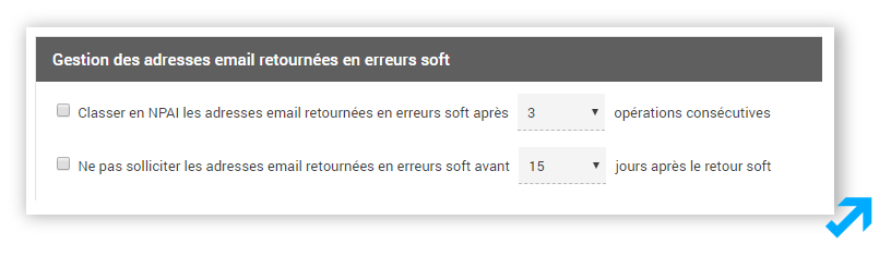 Gestion des erreurs soft dans l'application Message Business