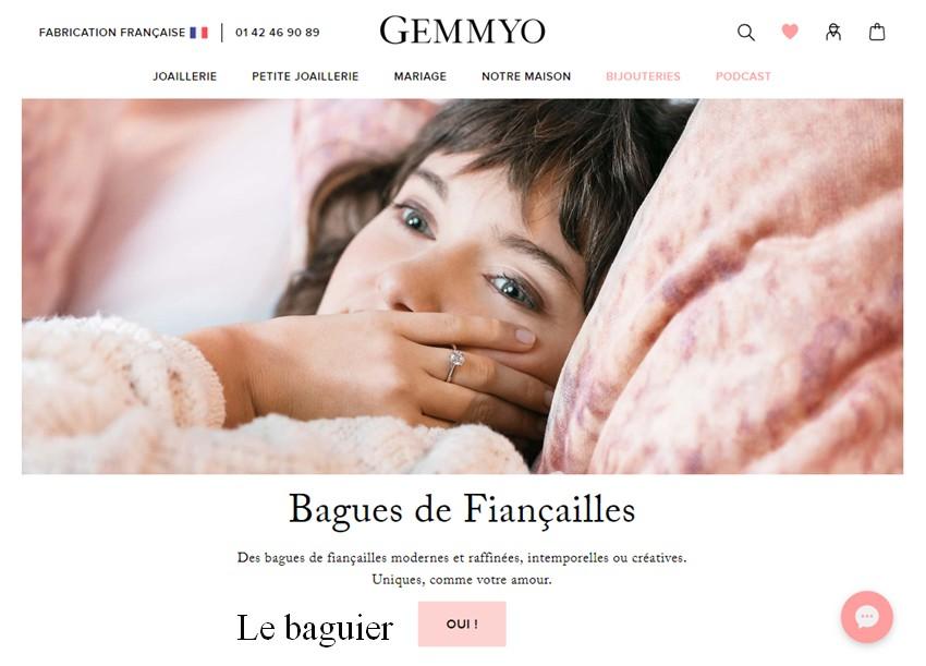 Page Home du site Gemmyo